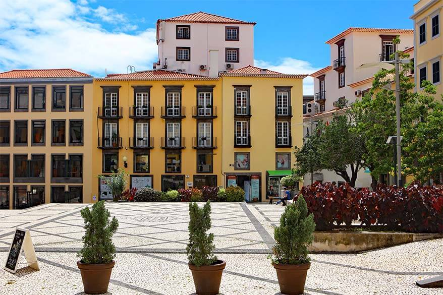 Zona Velha Funchal Old Town in Madeira, Portugal