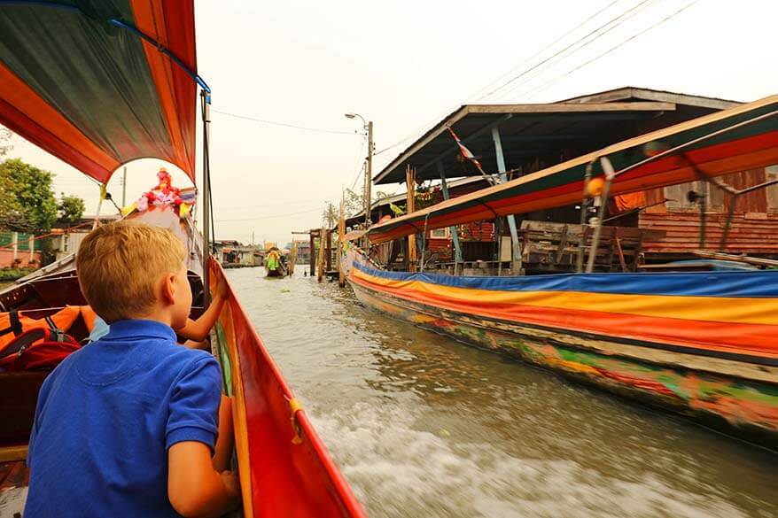 Bangkok river boat tour is a great way to explore the city a bit off the beaten path