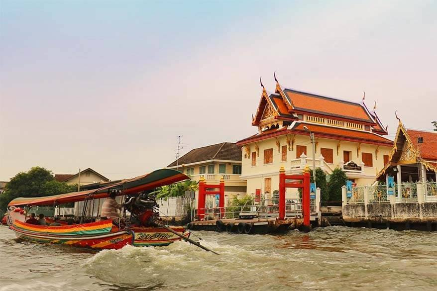 Bangkok canals tour by a private long-tail boat - a real hidden gem of Bangkok