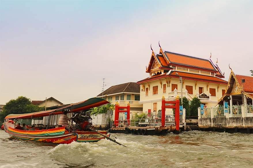 Bangkok canals tour by a private long-tail boat - a real hidden gem of Bangkok