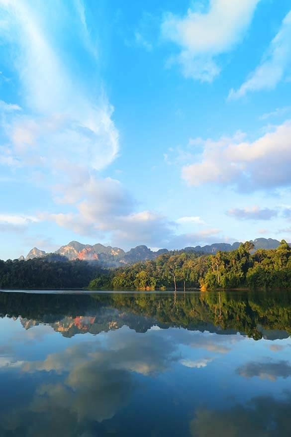 Cheow Larn Lake in Khao Sok National Park