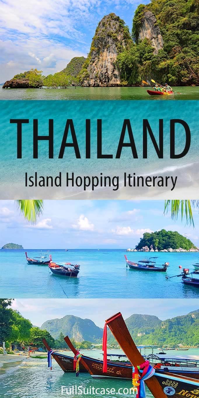 How to plan an island hopping trip in Thailand