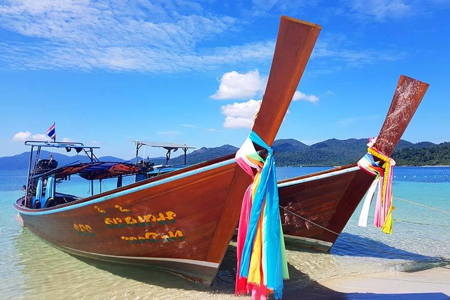 Island hopping from Phuket - islands you can visit as a day trip from Phuket Thailand