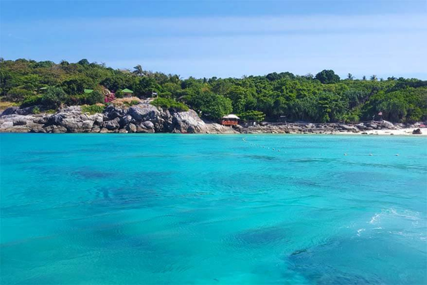 Koh Racha Yai island can easily be visited as a day trip from Phuket