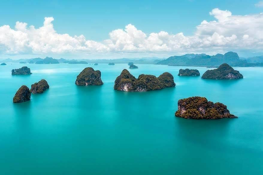 Phuket island hopping - islands you can visit as a day trip from Phuket Thailand