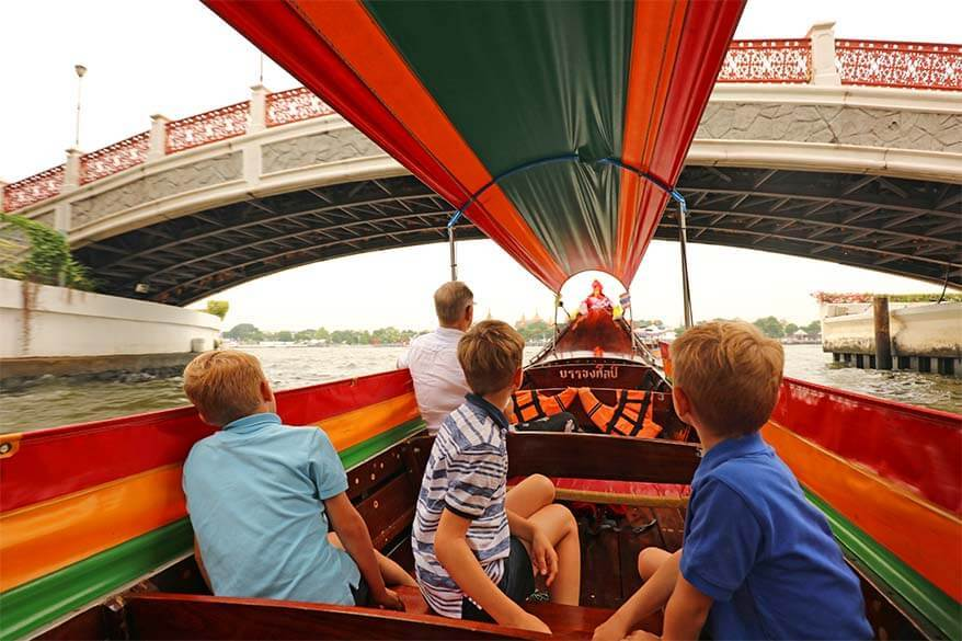 Private Bangkok river boat tour is the best way to explore the canals at your own pace