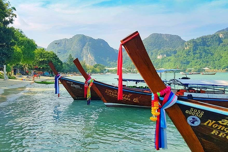 Thailand island hopping - 2 week itinerary covering the best islands of south Thailand