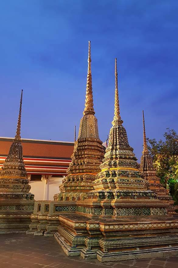 Wat Pho temple - one of the nicest places you can visit on a short Bangkok layover