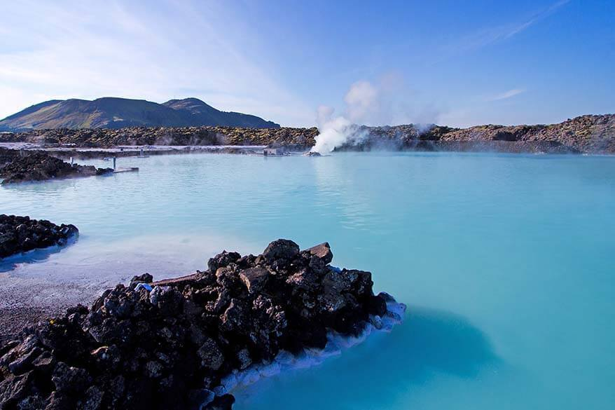 Blue Lagoon geothermal pool is one of the most popular places to visit in Iceland
