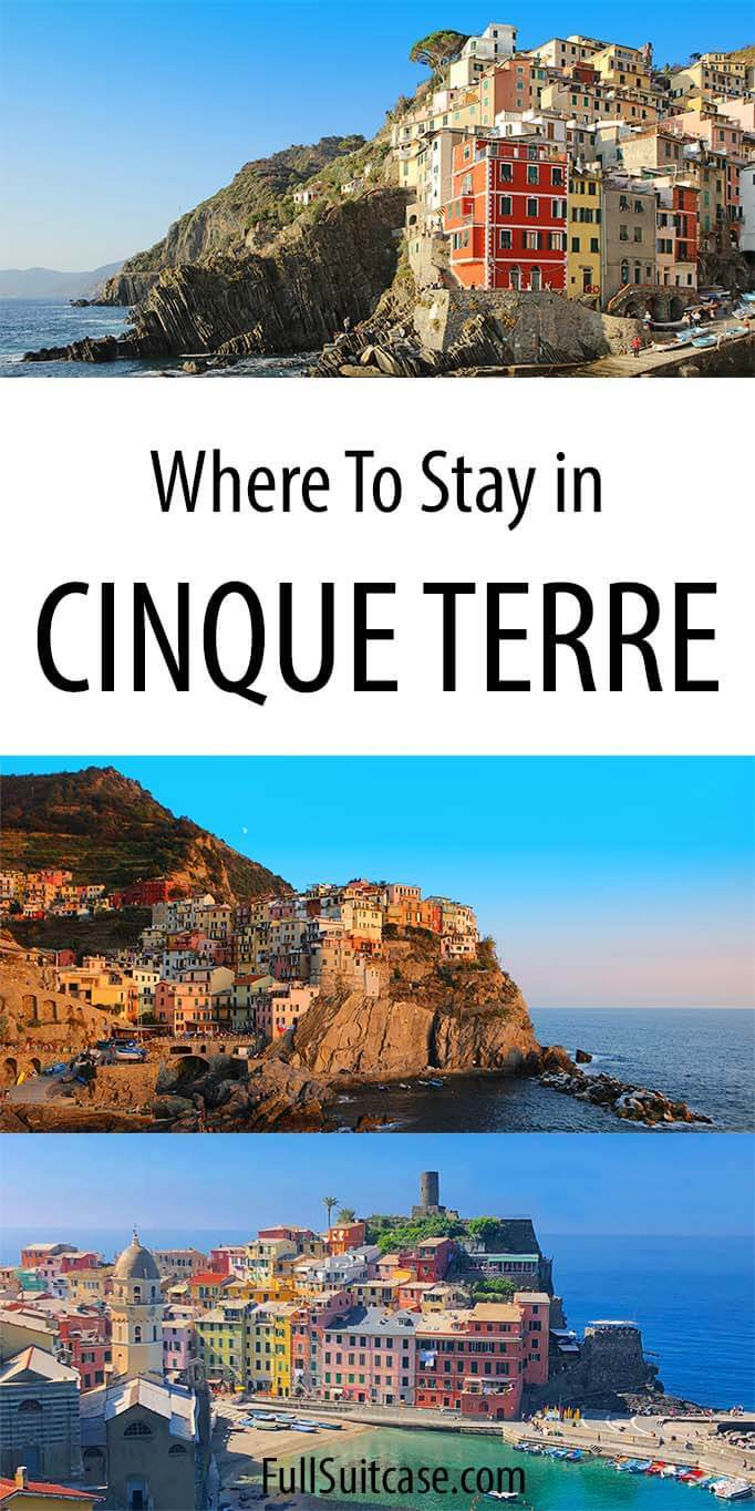 Complete guide to Cinque Terre hotels and accommodations