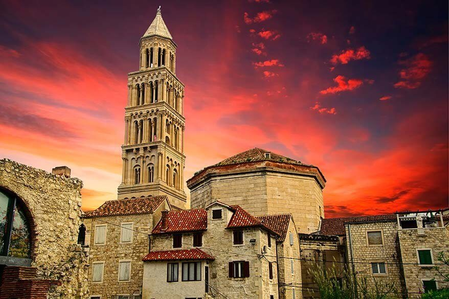 Diocletian's Palace - one of the Game of Thrones filming locations in Split, Croatia