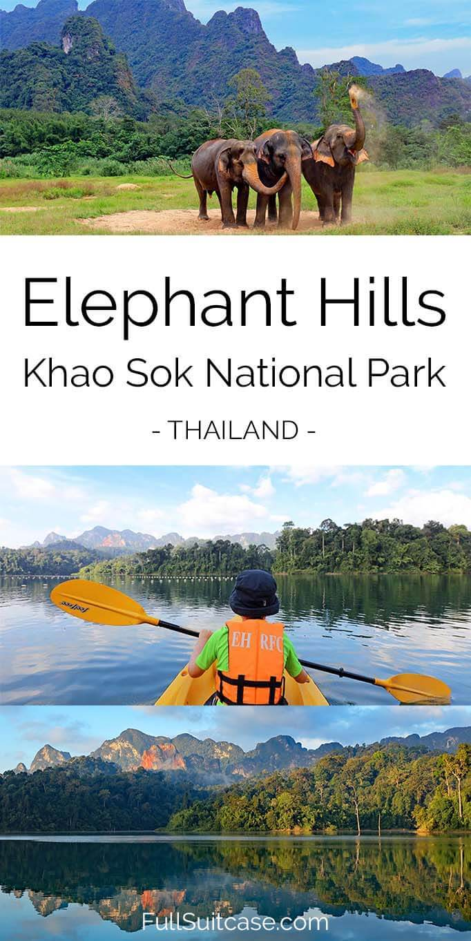 Elephant Hills resort review - Khao Sok National Park Thailand