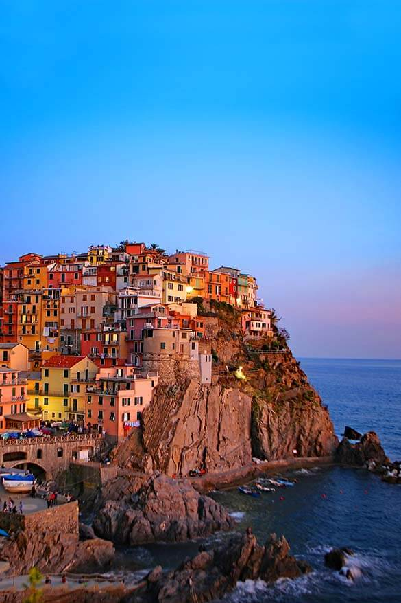 Manarola is one of the best towns to stay in Cinque Terre