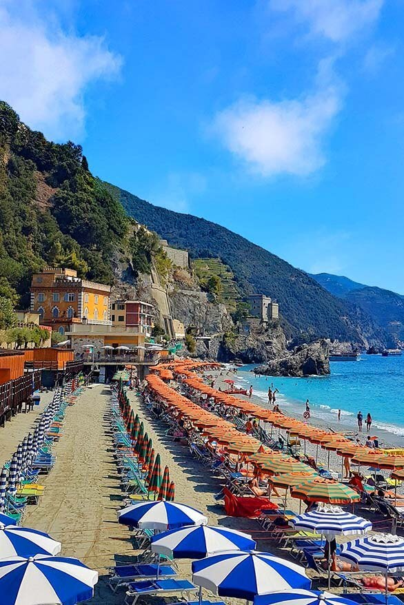 Monterosso al Mare is one of the best towns to stay in Cinque Terre in Italy
