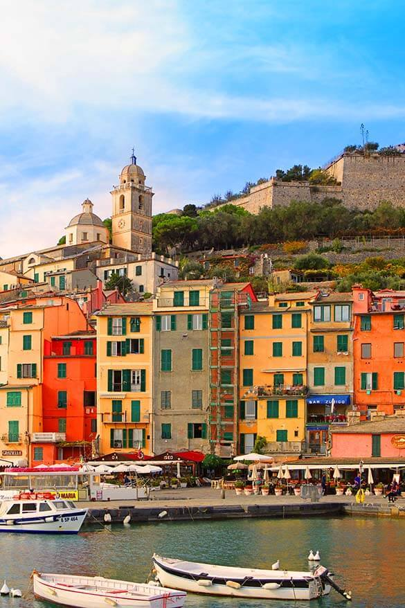 Portovenere is a great alternative to staying in Cinque Terre