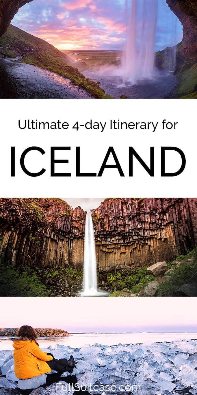 The best Iceland itinerary for four days - see ALL the best places along the South Coast