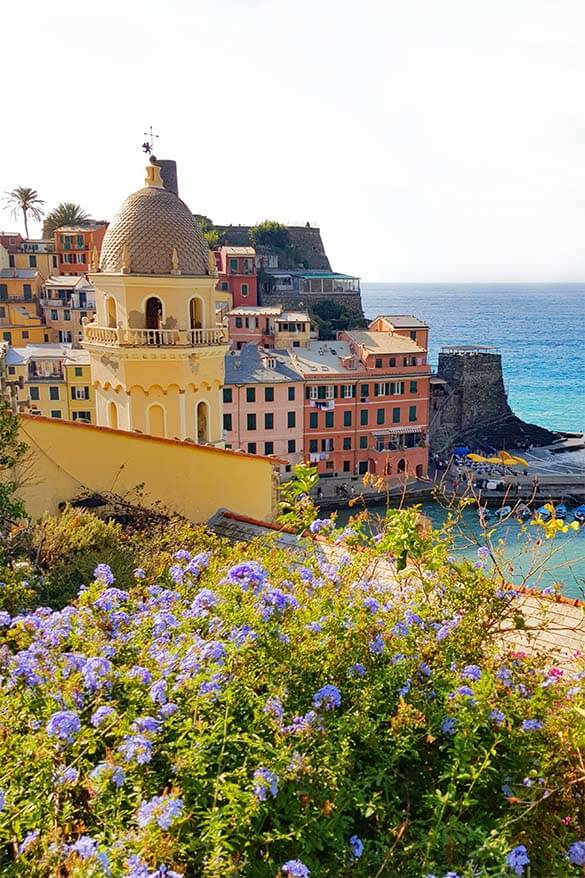 Vernazza is a popular place to stay in Cinque Terre