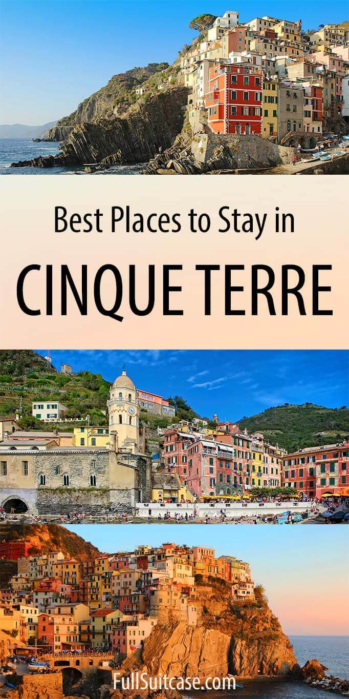 Where to stay in Cinque Terre in Italy - best towns, hotels for all budgets, and more