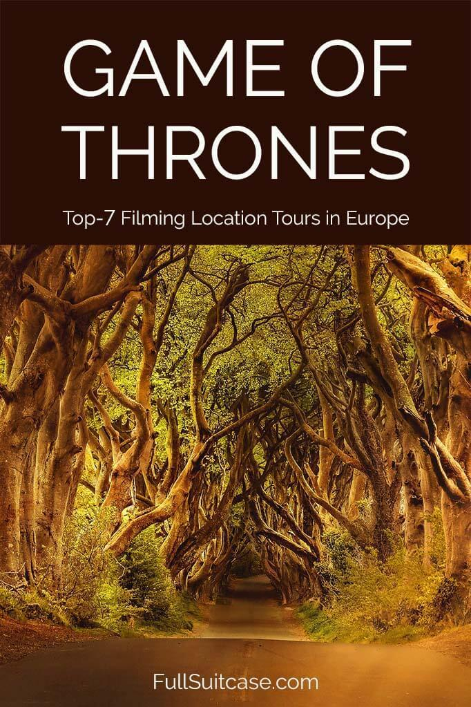 Best Game of Thrones tours for the most popular filming locations in Iceland, Ireland, Croatia, Malta, and Spain