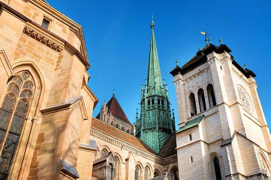 Best things to do in Geneva Switzerland - Saint Pierre Cathedral