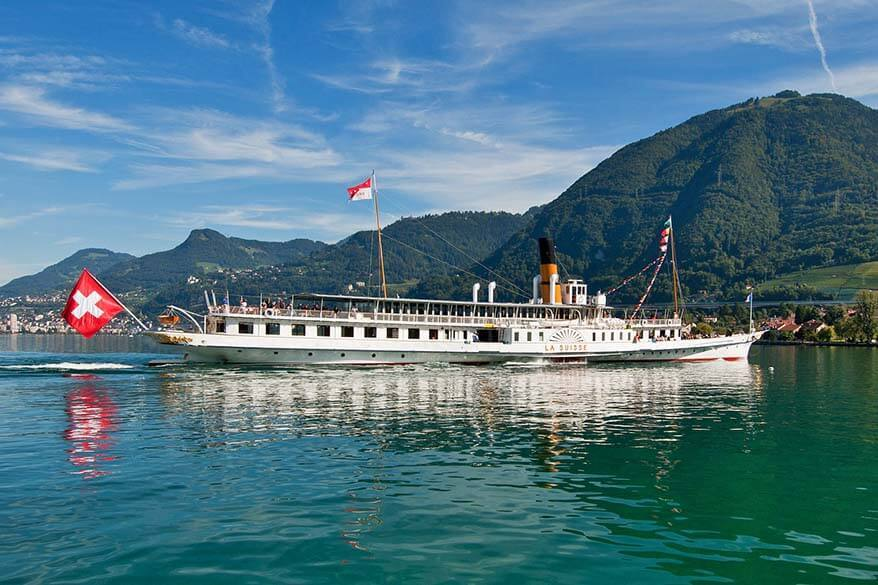 Boat tour on Lake Geneva is one of the best things to do in Geneva, Switzerland
