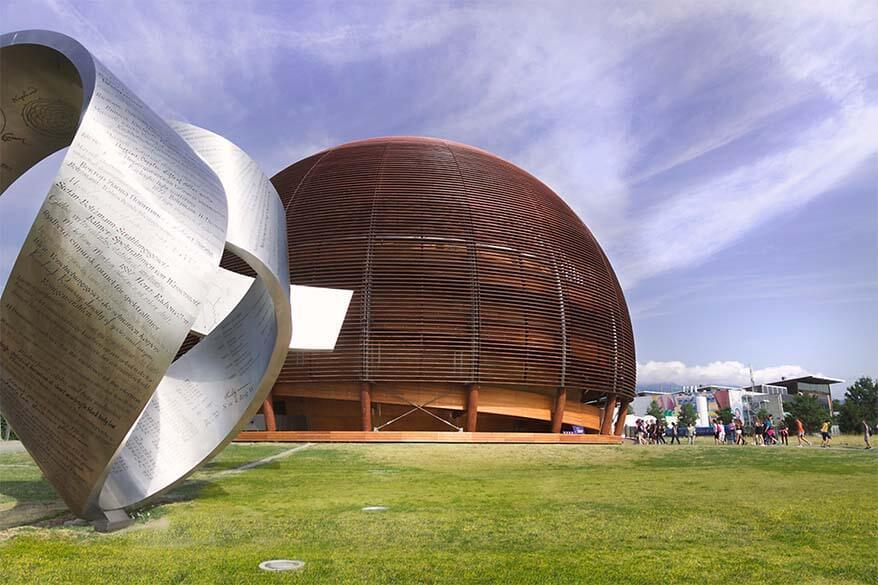 CERN is one of the unique places to visit in Geneva Switzerland