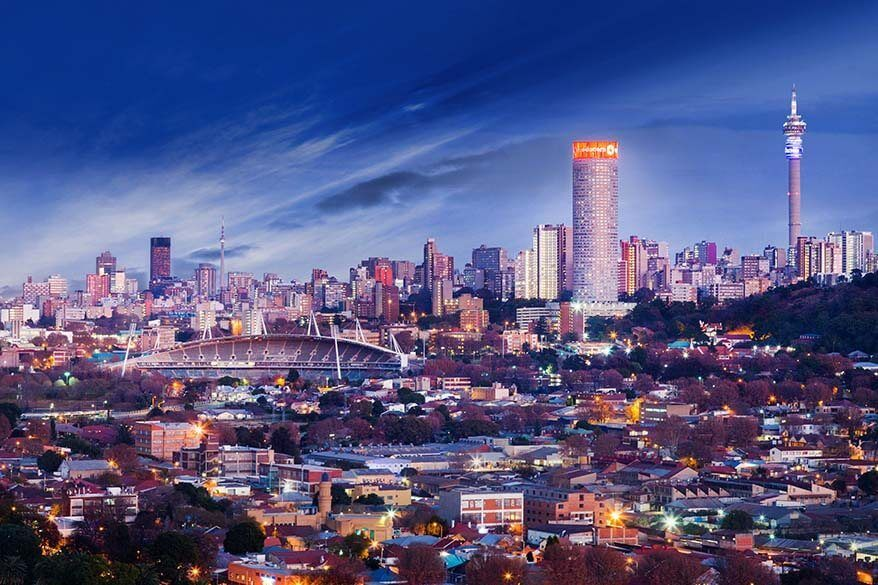 Johannesburg - one of the main cities to visit in South Africa