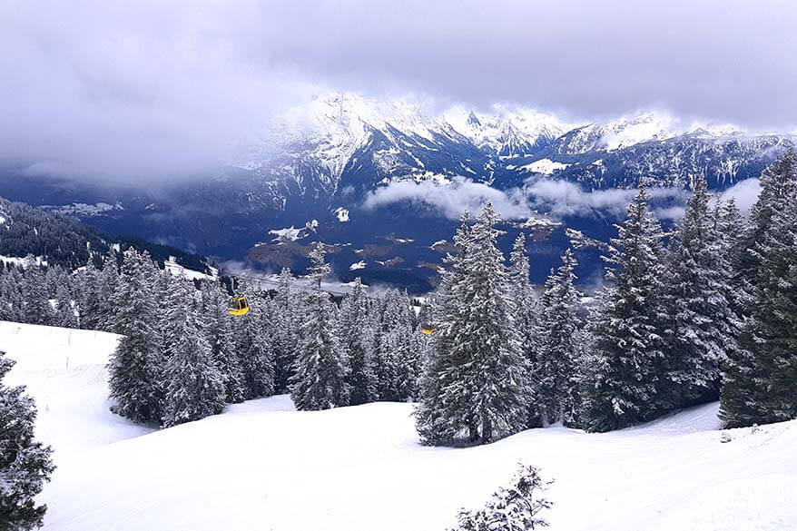 Meiringen - Hasliberg ski area is one of the most family friendly ski places in Switzerland