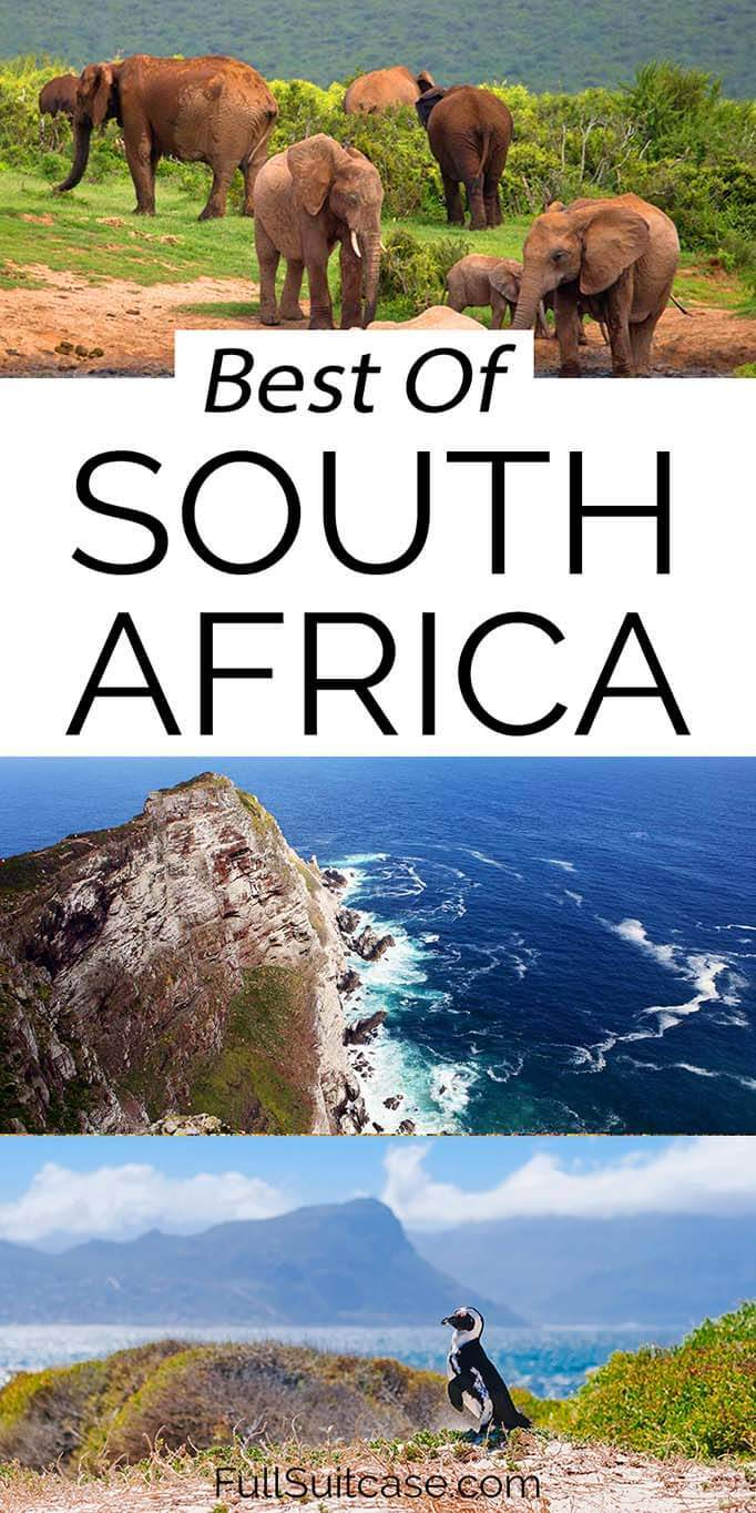 Most beautiful places in South Africa - ultimate list