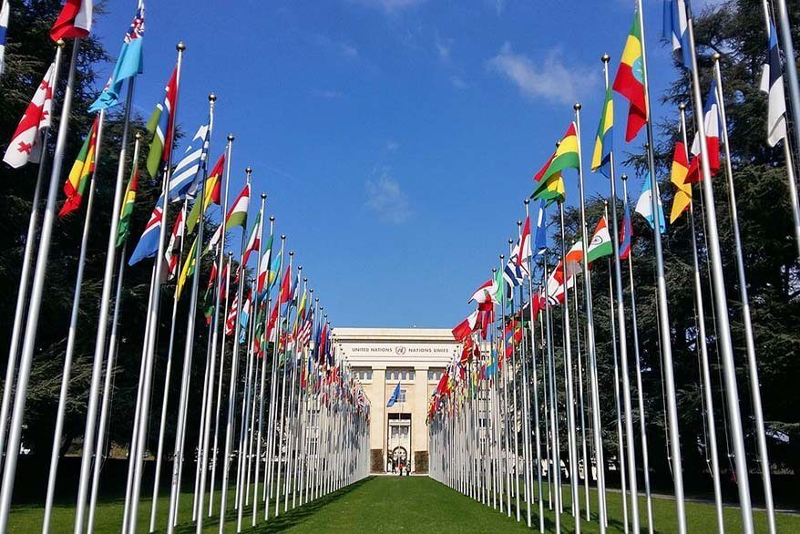 Palace of Nations, the United Nations Office in Geneva
