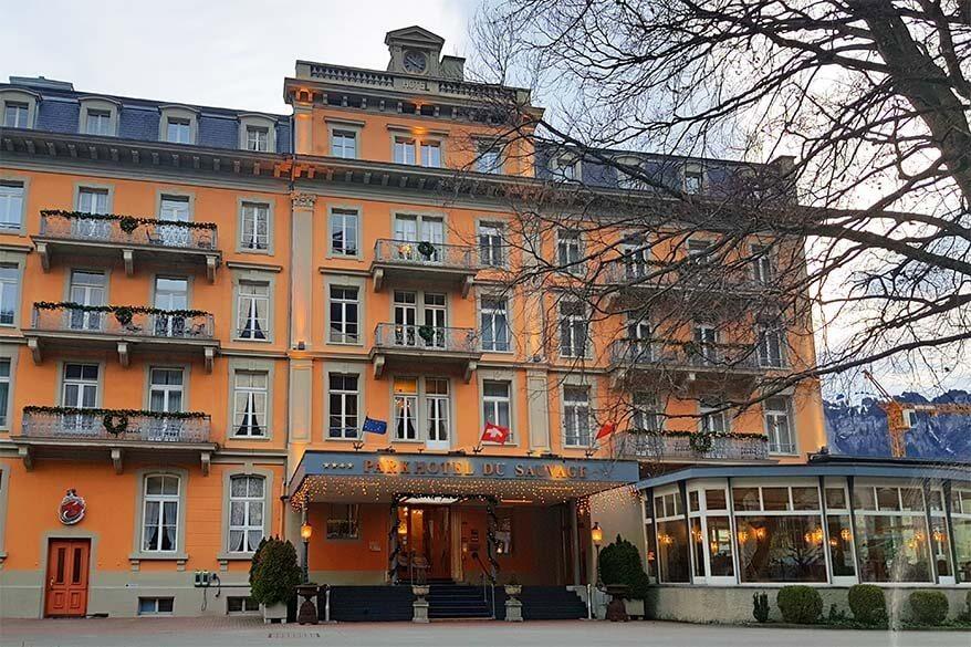 Parkhotel du Sauvage in Meiringen Switzerland