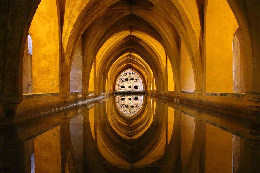 Royal Alcazar of Seville - one of Game of Thrones filming locations in Spain