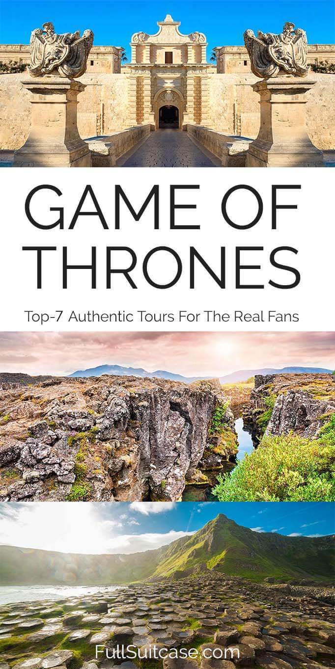 The Best Game of Thrones filming location tours