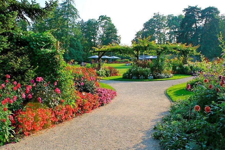 Things to do in Geneva Switzerland - visit Conservatory and Botanical Garden