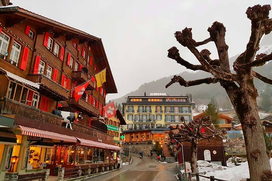 Wengen is one of the most picturesque mountain villages in Switzerland