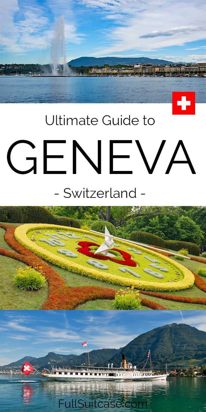 What to see and do in Geneva Switzerland