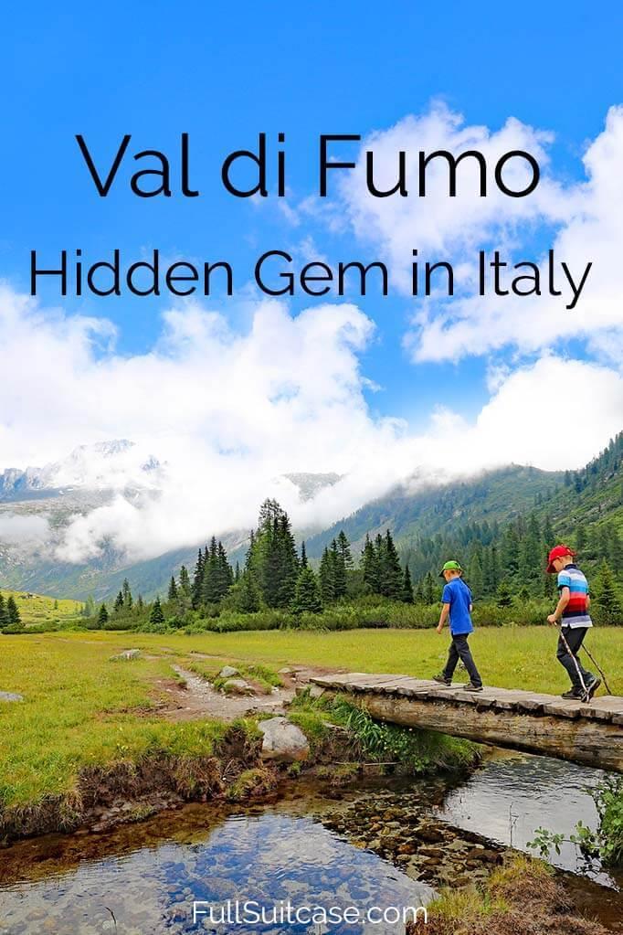 Best hiking in Trentino Italy - Rifugio Val di Fumo hike