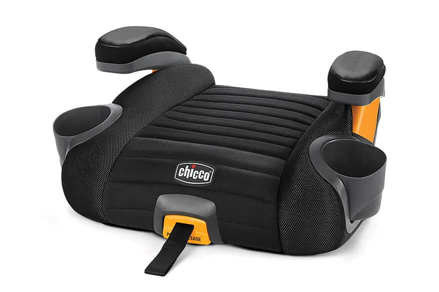 Best travel booster car seats - Chicco GoFit backless booster