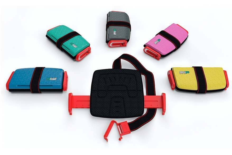 Best travel booster seats - Mifold Grab and Go