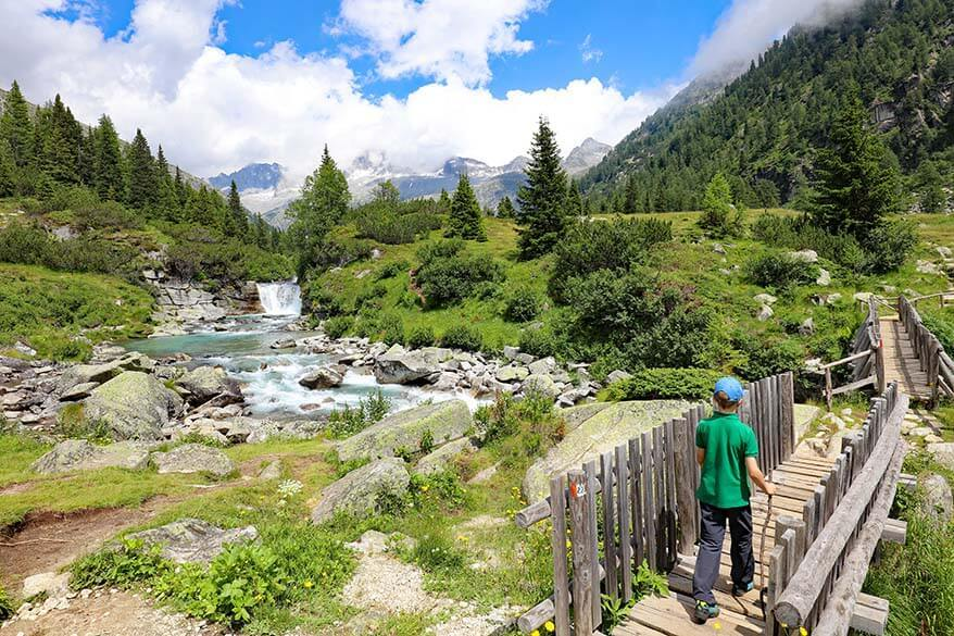 Hiking to Rifugio Val di Fumo - one of the best hikes in Trentino region in Italy