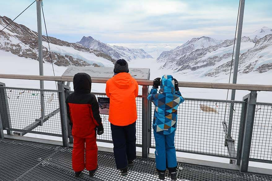 Jungfraujoch day trip with kids - amazing experience in Switzerland