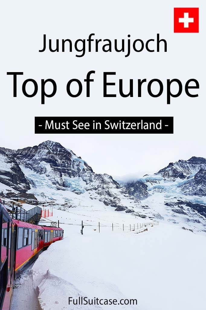 Switzerland's top places - Jungfraujoch Top of Europe