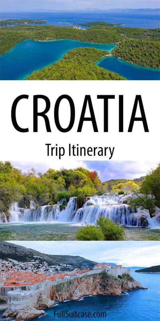 2 weeks in Croatia itinerary