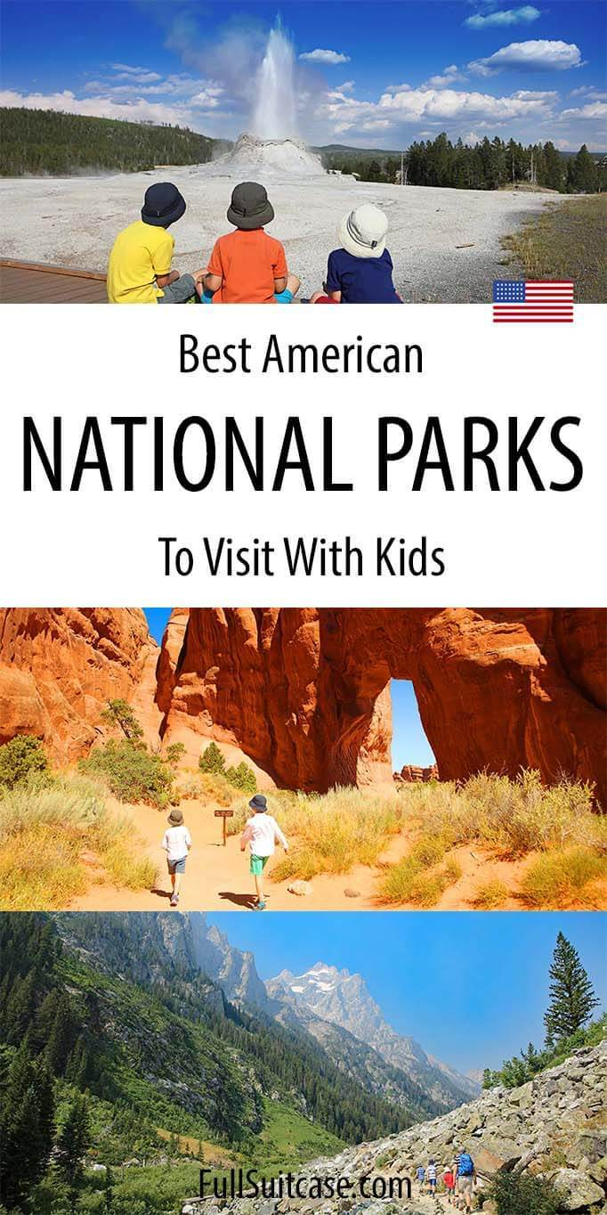 Best National Parks for Kids in the United States of America