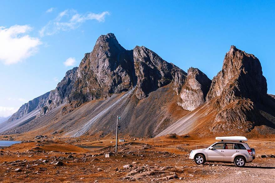 Best way to get around Iceland is to rent a car
