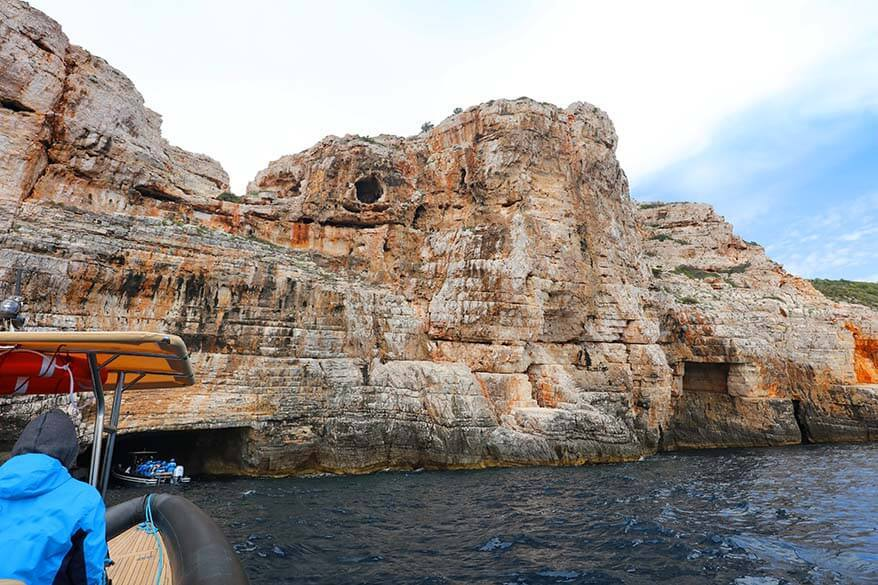 Best way to visit Blue Cave from Split is to book a day tour