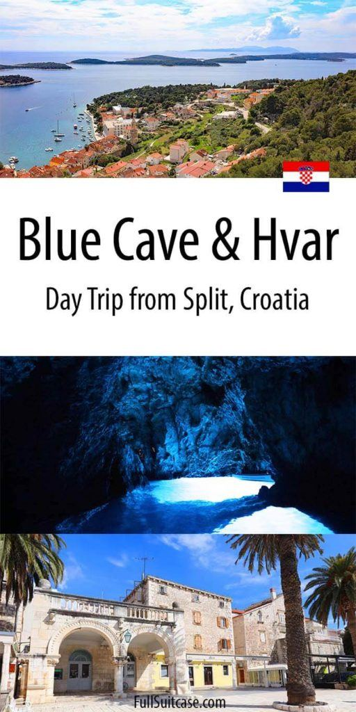 Blue Cave and Hvar day trip from Split Croatia