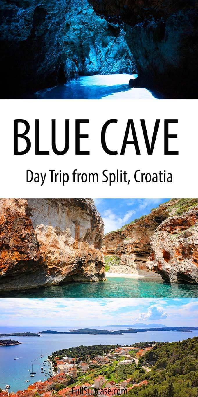 Blue Cave and Hvar from Split - best day trip in Croatia