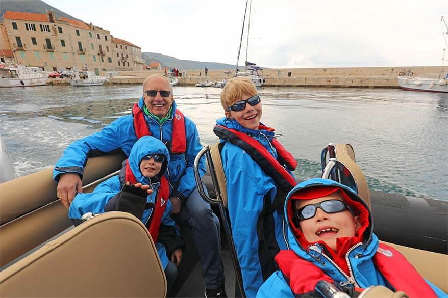 Blue Cave with kids - day tour from Split, Croatia