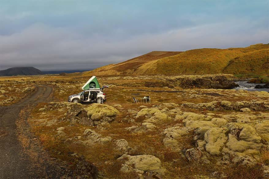 Camping in Iceland - practical information and tips